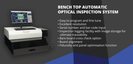 Bench Top Automatic Optical Inspection - AOI