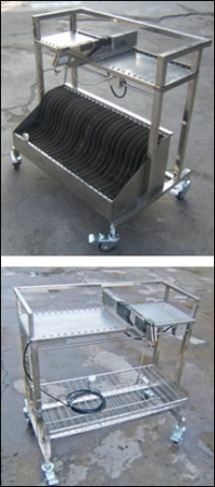 Feeders Storage Trolley